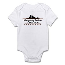 Measure Twice Infant Bodysuit