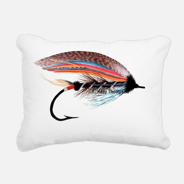 flies 030 Rectangular Canvas Pillow