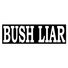 Bush Liar (Bumper Sticker)