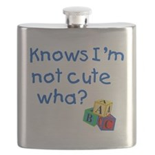 Knows Im not cute wha large Flask