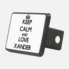 Keep Calm and Love Xander Hitch Cover