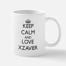 Keep Calm and Love Xzavier Mugs