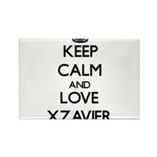 Keep Calm and Love Xzavier Magnets