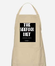 seefood diet cover Apron