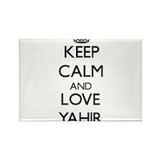 Keep Calm and Love Yahir Magnets