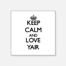 Keep Calm and Love Yair Sticker