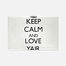 Keep Calm and Love Yair Magnets