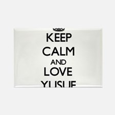 Keep Calm and Love Yusuf Magnets
