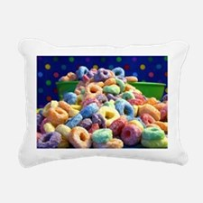 loop fruits Rectangular Canvas Pillow