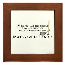 MacGyver Trad Framed Tile