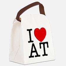 at_v Canvas Lunch Bag