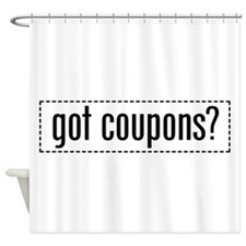 got_coupons_03.png Shower Curtain
