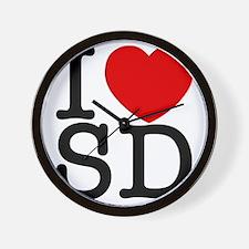 sd_v Wall Clock