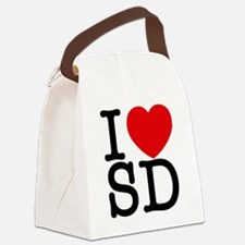 sd_v Canvas Lunch Bag