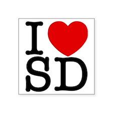 "sd_v Square Sticker 3"" x 3"""