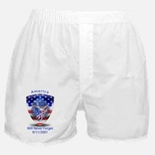 9-11 poster Boxer Shorts
