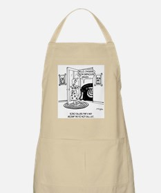 Rachel from Cardholder Services Apron
