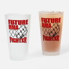 FutureMMAFighter_02 Drinking Glass