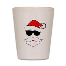 Cool Santa Claus Shot Glass