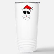 Cool Santa Claus Stainless Steel Travel Mug