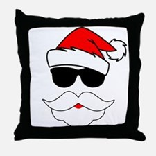 Cool Santa Claus Throw Pillow
