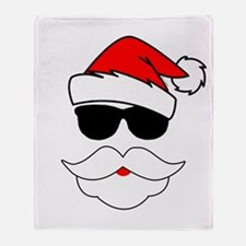 Cool Santa Claus Throw Blanket