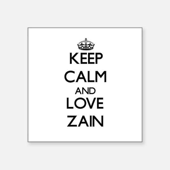 Keep Calm and Love Zain Sticker