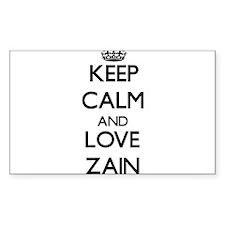 Keep Calm and Love Zain Decal