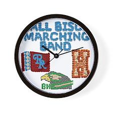 ABMB Logos Included Wall Clock