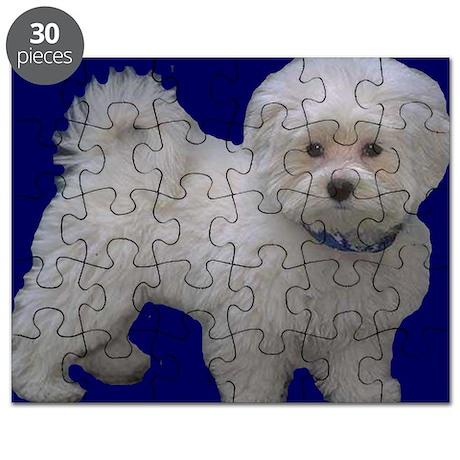 maltese 2 mousepad Puzzle