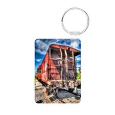 journal_caboose Keychains