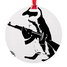 Armed To The Beak Ornament