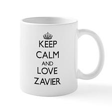 Keep Calm and Love Zavier Mugs