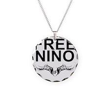 Free_Nino_Front Necklace Circle Charm