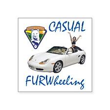 """CasFWD3 Square Sticker 3"""" x 3"""""""