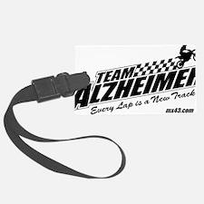 Team Alzheimer Luggage Tag