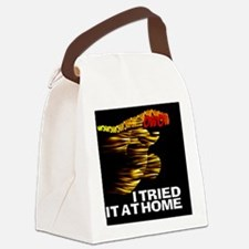 TRIED IT AT HOME copyW Canvas Lunch Bag