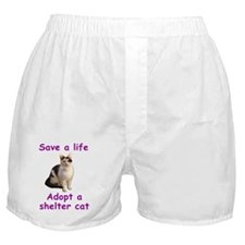 Shelter Cat Boxer Shorts