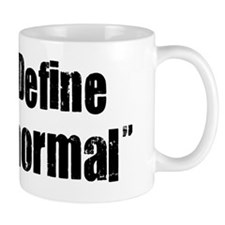 Define Normal Black. psd Mug