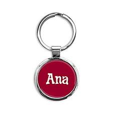 Ana_Button Round Keychain