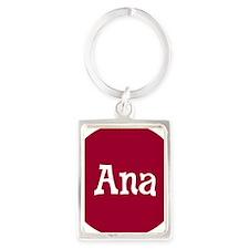 Ana_Button Portrait Keychain
