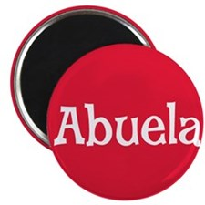 Abuela_Button Magnet