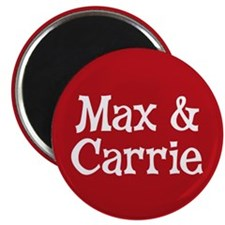 Max_Carrie_Button Magnet