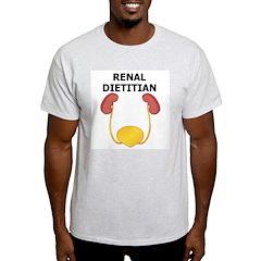 Renal Dietitian Ash Grey T-Shirt
