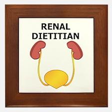 Renal Dietitian Framed Tile