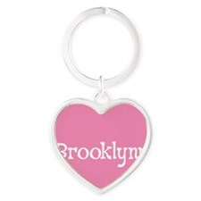 Brooklynn_Button Heart Keychain