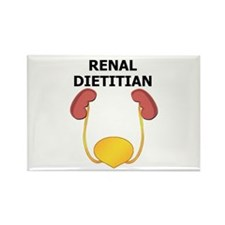 Renal Dietitian Rectangle Magnet