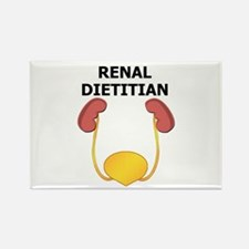 Renal Dietitian Rectangle Magnet