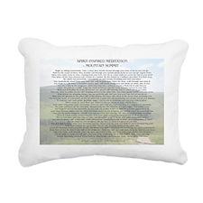 meditation8 Rectangular Canvas Pillow