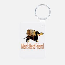 Mans best friend Keychains